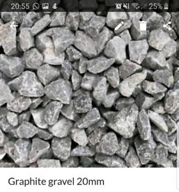 Graphite gravel 20mm