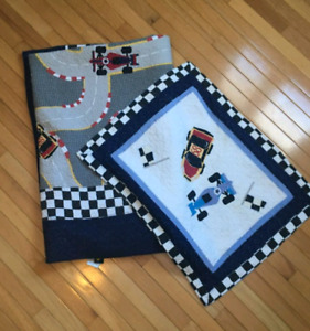 Race Car Bedding
