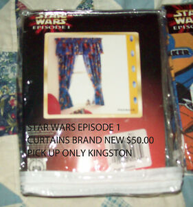 Star Wars curtains Kingston Kingston Area image 1