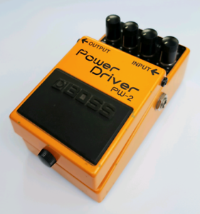 Boss PW-2 Power Driver Distortion Guitar Effects Pedal