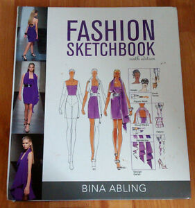 College Fashion Drawing Textbook w/ DVD