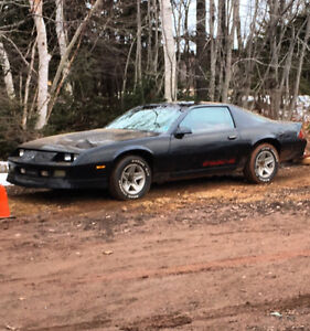 1988 Chevrolet Camaro Iroc z trade for sled