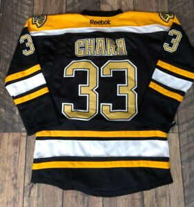 Boston NHL hockey jersey Chandail Chara