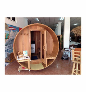 INDOOR AND OUTDOOR SAUNAS. MADE IN CANADA WITH REAL Peterborough Peterborough Area image 4