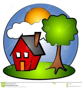 I am looking for a small rental in a house