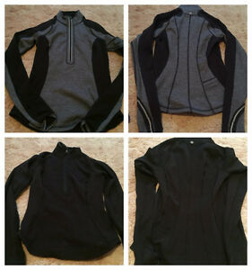 lululemon size 4, 6, and 8 pullovers sweaters and jackets