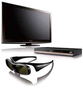 Panasonic TV 54VT25 Plasma 54pc + Lecteur Bdt100 bluray 3D