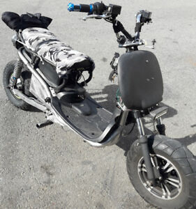 72v honda ruckus style ebike electric scooter Scooterville.
