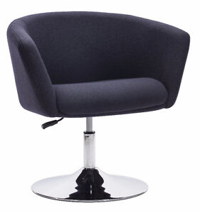 FABRIC SWIVEL ADJUSTABLE OFFICE CHAIR Peterborough Peterborough Area image 1