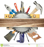 I am looking for a Gentleman Carpenter who works from home...