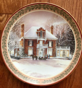 Trisha Romance - Collector Plate - Winter Fantasy:  $10