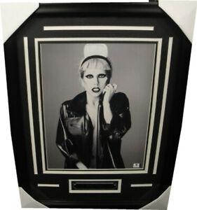 AUTHENTICATED Lady Gaga Autographed 11x14 Photo w/ Custom Frame