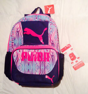 PUMA Backpack & Matching Lunch Bag - NEW with tags
