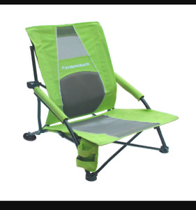 Brand New Strongback Low Gravity Beach Chairs