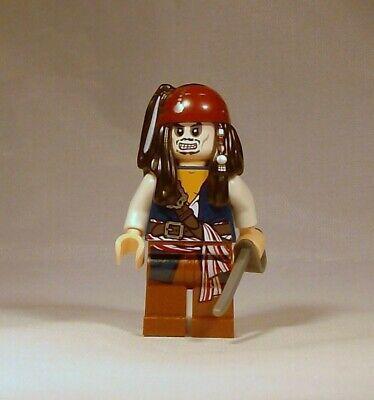 LEGO Pirates of the Caribbean Captain Jack Sparrow Zombie Minifigure 4181 Sword