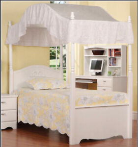 TWIN CANAOPY BED for sale