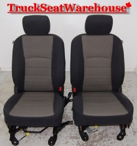 Dodge Ram 2013 Truck Power Cloth Seats with Airbags 2009-17