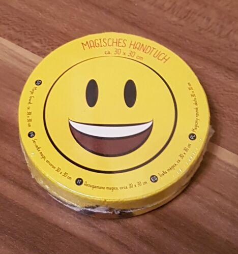★ Magisches Handtuch Waschlappen Kinder ★ Smiley Emoji ★ lachen ★