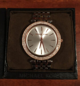 LADIES ~ MICHAEL KORS DARCI PAVE WATCH FOR SALE!