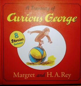 A Treasury Of Curious George - 8 Stories Included