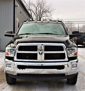 2012 Dodge Ram 3500 with DewEze Bale Deck