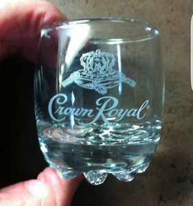 Vintage Crown Royal Shot Glasses