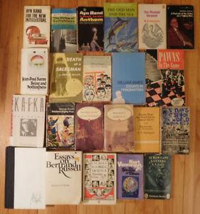 20th Century Classics (29 books) for $20