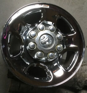 "17"" chrome clad on steel RIM & CENTER CAP for Dodge truck"