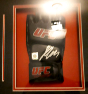 Signed Georges St-Pierre Official UFC Glove