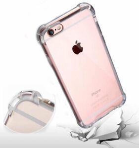 Étui Iphone 7/8 Shockproof, transparent et flexible
