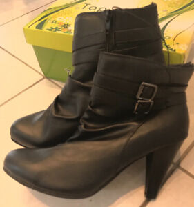 Women's Black Ankle Boots - NEW!