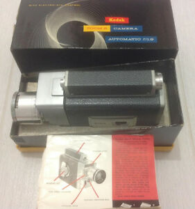 Kodak movie camera and splicing collection