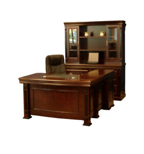 High-end Veneer Workstations/Executive Desks