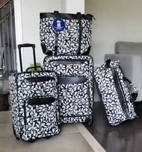 New, American Tourister 4-Piece Luggage Set
