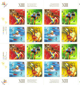Canada Stamps - Pan American Games XIII 46c (1999) West Island Greater Montréal image 1