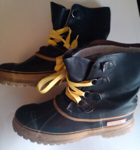 Men Boots VTG Sorel Kaufman Canada Snow/Work/Safety Toe 13
