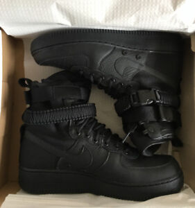 "Nike SF Air Force 1 ""Triple Black"" for sale!!!"