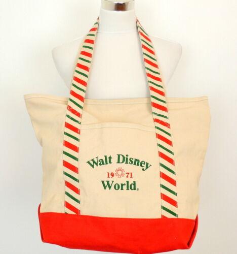 Walt Disney tote Bag Shopper Vacation Shopping Travel Christmas