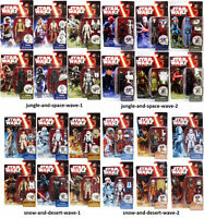 Star Wars - The Force Awakens - Complete Wave 1+2 Action Figures