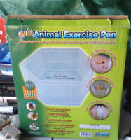 Small exercise animal pen still in box 12w x 12 h x 12d