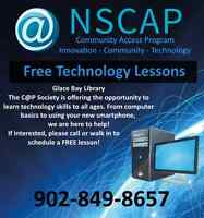 FREE Technology Lessons (Glace Bay Library C@P)