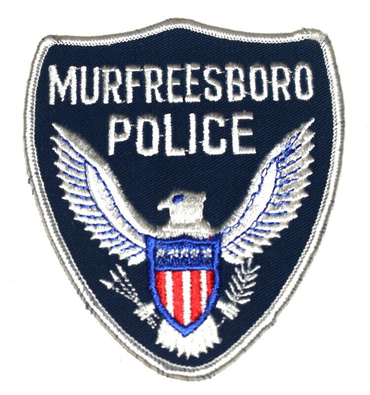 MURFREESBORO TENNESSEE TN Sheriff Police Patch SILVER EAGLE OLD MESH ~
