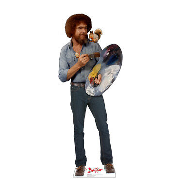Life Size Standups (BOB ROSS AND SQUIRREL - LIFE SIZE STANDUP/CUTOUT BRAND NEW -)