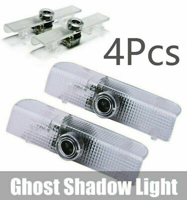 For Nissan LED Car Door Laser Projector Logo Courtesy Ghost Shadow Light 4Pcs