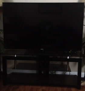 55 inch Samsung smart tv with stand