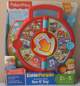 Fisher-Price Little People - Learn About Others See & Say
