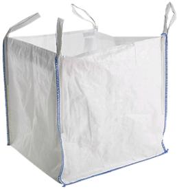 Used empty builders bag