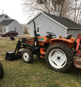 Tractor/Bush Hog/Finish Mower/4 Wheeler/72 Mercedes at AUCTION