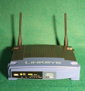 Linksys WRT54G V8.2 Wireless-G Broadband Router & 4-Port Switch