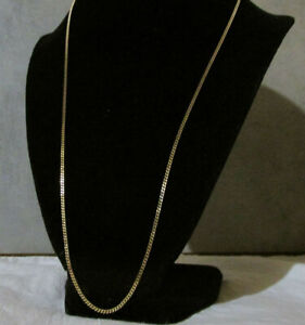 -14k Solid Yellow Gold Trace Chain Necklaces